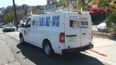 plumbing company van